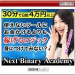 ネクストバイナリーアカデミーがインフォトップのPR欄に提載されました!